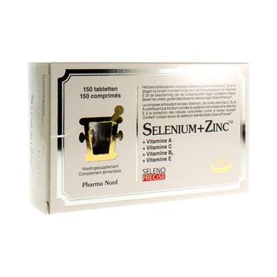 PHARMA NORD SELENIUM+ZINC COMP 150