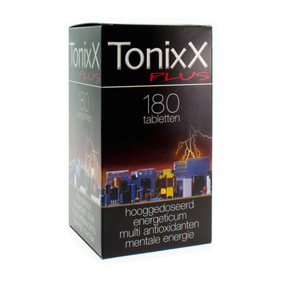 TONIXX PLUS TABL 180X1270MG