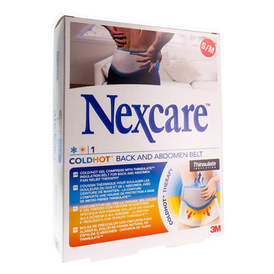 NEXCARE 3M COLD HOT BACK-ABDOMEN BELT S N15711S