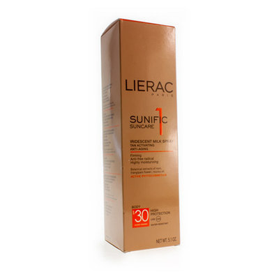 LIERAC SUNIFIC 1 IP30 SPRAY A/AGE LICHAAM 150ML