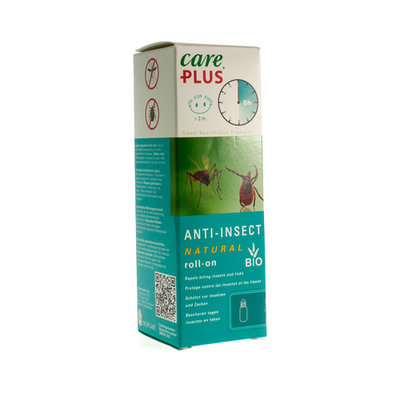 CARE PLUS BIO ROLL-ON 50ML (ZONDER DEET)