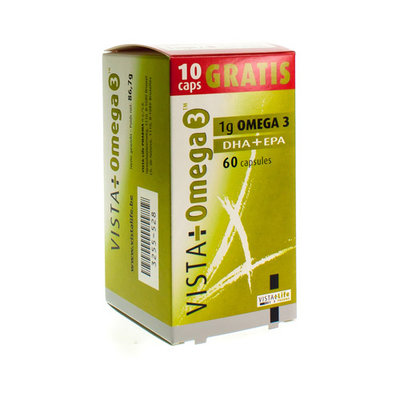 VISTA OMEGA 3 CAPS 60 50+10 PROMO