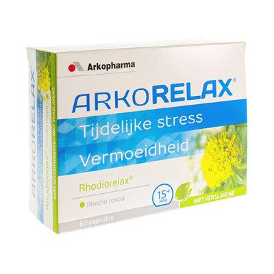 ARKORELAX RHODIORELAX STRESS BLISTER CAPS 60