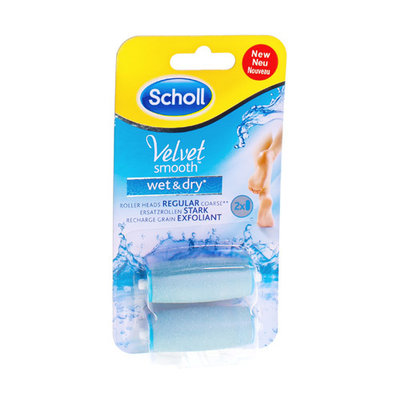 SCHOLL VELVET SMOOTH WET&DRY ROLLERS 2