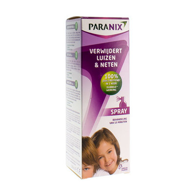 PARANIX SPRAY ZONDER KAM 100ML