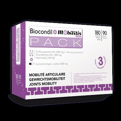 BIOCONDIL COMP 180+MOBILITYL CAPS 90