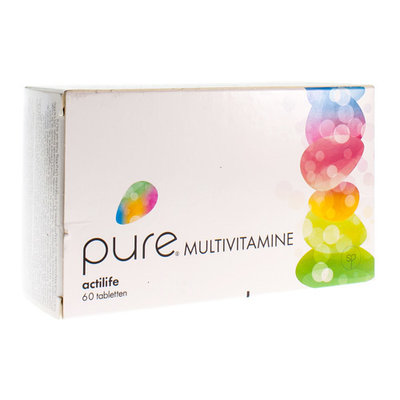PURE MULTIVITAMINE TABL 60