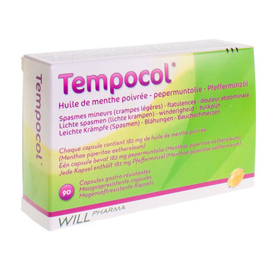 TEMPOCOL CAPS 90 X 182 MG