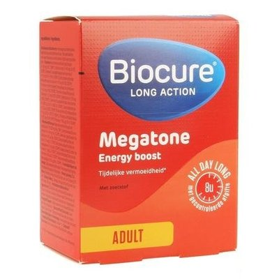 BIOCURE LONG ACTION MEGATONE ENERGY BOOST COMP 30