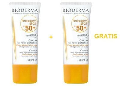BIODERMA PHOTODERM SPOT SPF50 TUBE 30ML 1+1 GRATIS