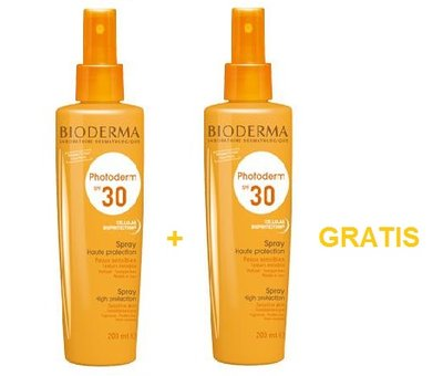 BIODERMA PHOTODERM SPF30 SPRAY 200ML 1+1 GRATIS
