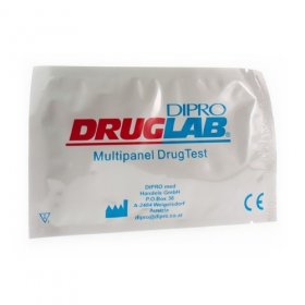 COCAINE DRUGLAB ZELFTEST +PIPET
