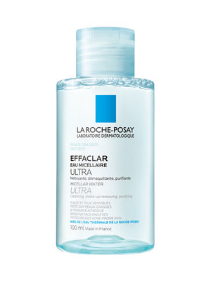 LRP EFFACLAR MICELLAIRE WATER 100ML - REISFORMAAT