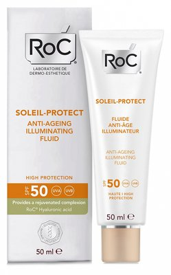 ROC SOLEIL PROTECT ANTI AGING FLUID SPF50 50ML - REISFORMAAT