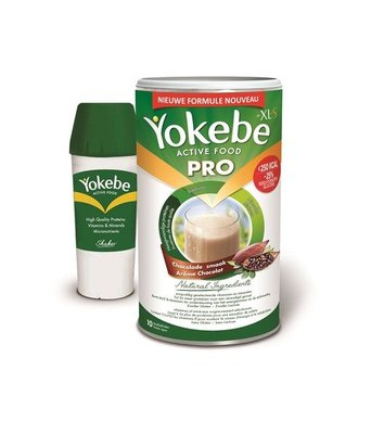 YOKEBE PRO BY XLS CHOCO 400G + SHAKER GRATIS