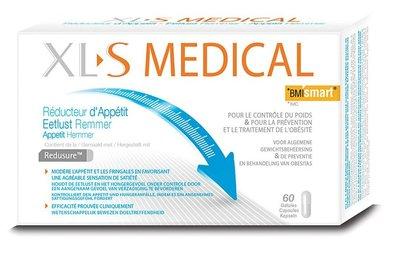 XLS MEDICAL EETLUSTREMMER CAPS 60