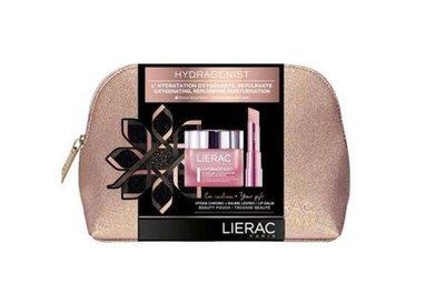 Lierac Hydragenist koffertje hydraterende balsem 50ml + Hydra-Chrono+ lippenbalsem 3g + Tasje