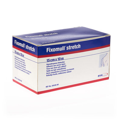 FIXOMULL STRETCH ADH 15CMX10M 1 0203800