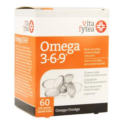 VITAFYTEA OMEGA 3-6-9 SOFTCAPS 60