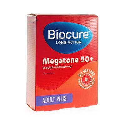 BIOCURE LONG ACTION MEGATONE 50+ COMP 30
