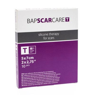 BAP SCAR CARE T VERB DUN TRANSP 5X 7CM 10 600507