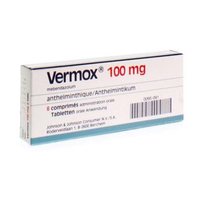 VERMOX COMP 6X100MG