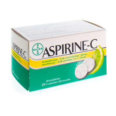 ASPIRINE C BRUISTABLETTEN COMP. 20