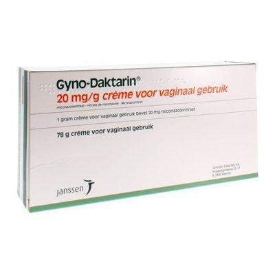 GYNO-DAKTARIN CREME 1 X 78 G 2%