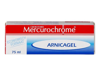 MERCUROCHROME ARNICA GEL 75ML
