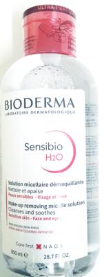 BIODERMA SENSIBIO H20 MICEL. OPL DOSEERPOMP 850ML