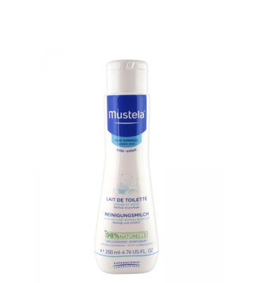 MUSTELA PN TOILETMELK Z/SPOELEN 200ML