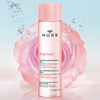 NUXE VERY ROSE MICELLAIR WATER KALM. 3IN1 PN 200ML