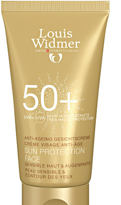 WIDMER SUN PROTECTION FACE 50 N/PARF TUBE 50ML