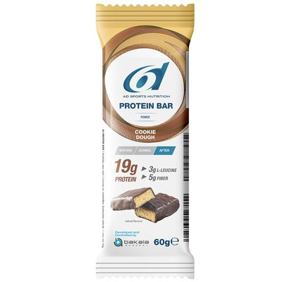 6D SIXD PROTEIN BAR COOKIE DOUGH 12X60G