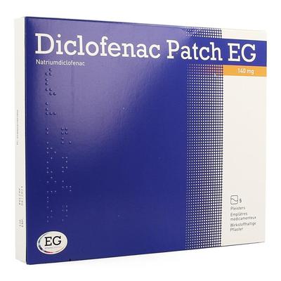 DICLOFENAC PATCH EG 140MG PLEISTER 5