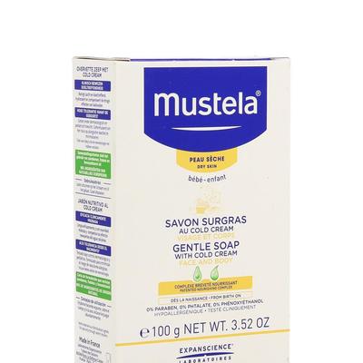 MUSTELA PS ZEEP OVERVET COLD CREAM 100G