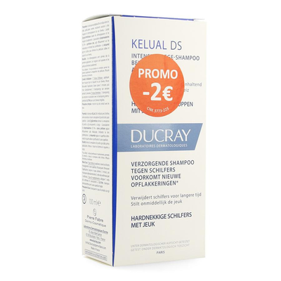 DUCRAY KELUAL DS SHAMPOO 100ML PROMO -2