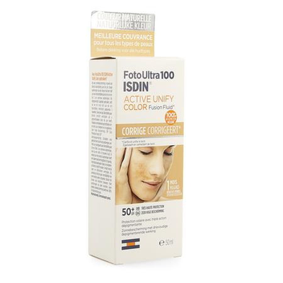 ISDIN FOTOULTRA ACTIVE UNIFY COLOR IP50+ NF 50ML