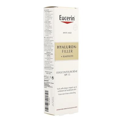 EUCERIN HYALURON FILLER+ELAST. OOGCONT. IP15 15ML