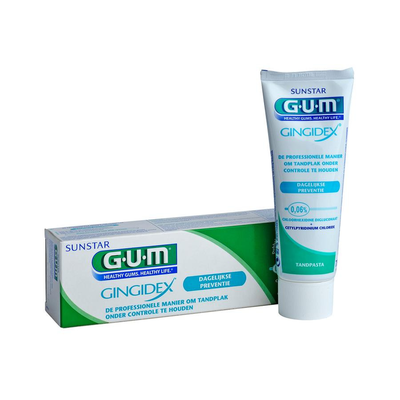 GUM TANDPASTA GINGIDEX 75ML 1755