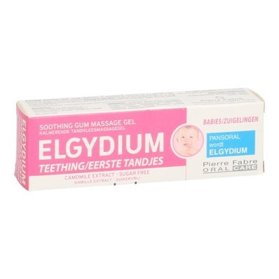 ELGYDIUM EERSTE TANDJES GEL TUBE 15ML