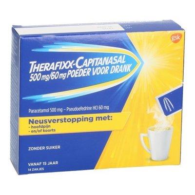 THERAFIXX-CAPITANASAL 500/60MG DRINK.OPL ZAK 14X6G (=NIOCITRAN)