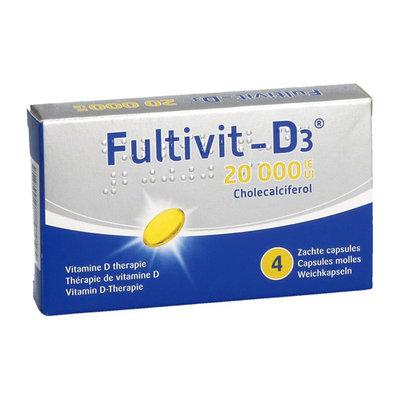 FULTIVIT-D3 20000IE CAPS ZACHT 4