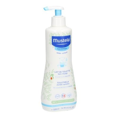 MUSTELA PN TOILETMELK Z/SPOELEN 500ML