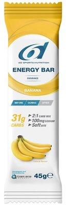 6D SIXD ENERGY BAR BANANA 6X45G