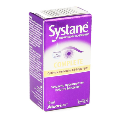 SYSTANE COMPLETE OOGDRUPPELS HYDRA FL 10ML