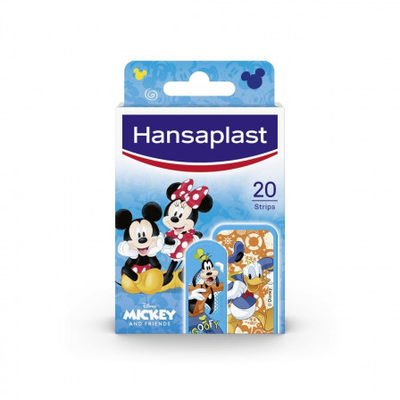 HANSAPLAST PLEISTER MICKEY & FRIENDS STRIPS 20