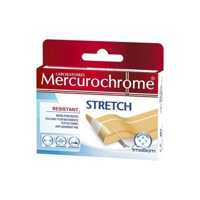 MERCUROCHROME PLEISTER STRETCH 1MX6CM