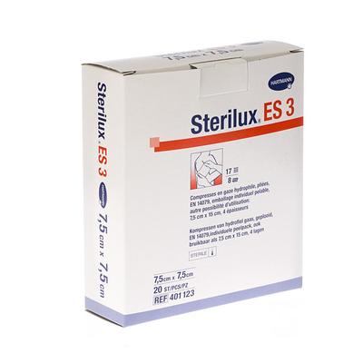 STERILUX ES3 KP STER 8PL 7,5X 7,5CM 20 4011239