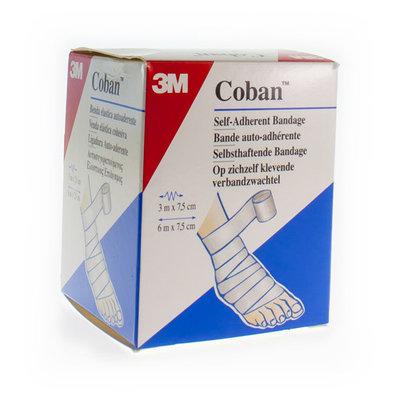COBAN 3M REKVERBAND WHITE ROL 7,5CMX4,57M 1583/W